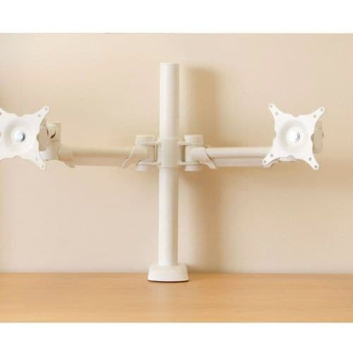 HAFSA Desk Mounted Double Monitor Arm